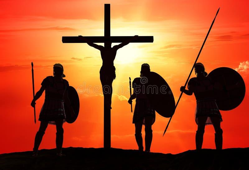 Der Christ stock abbildung