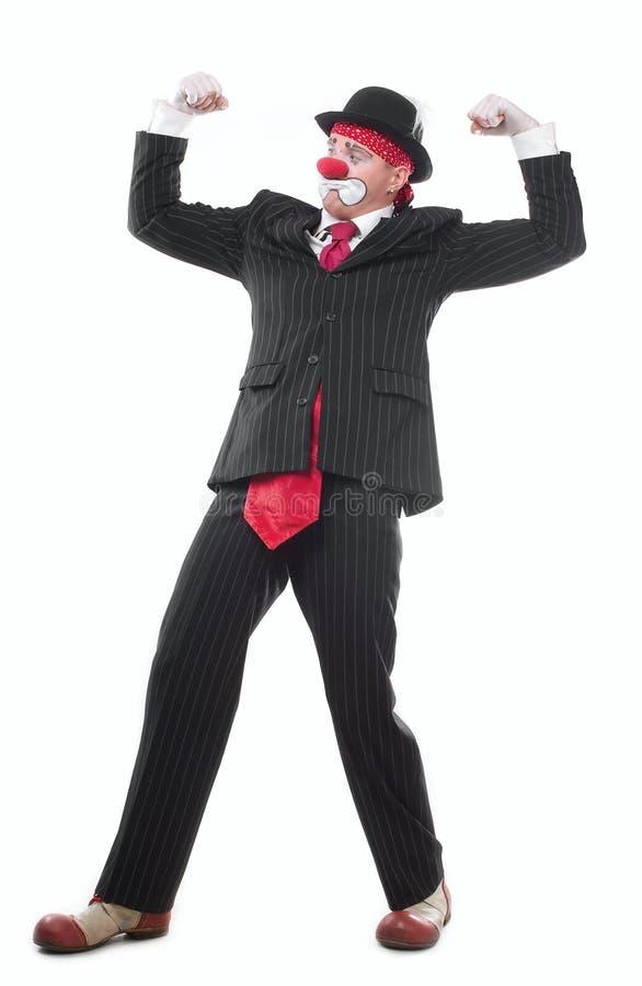 Der Clown stockfotografie