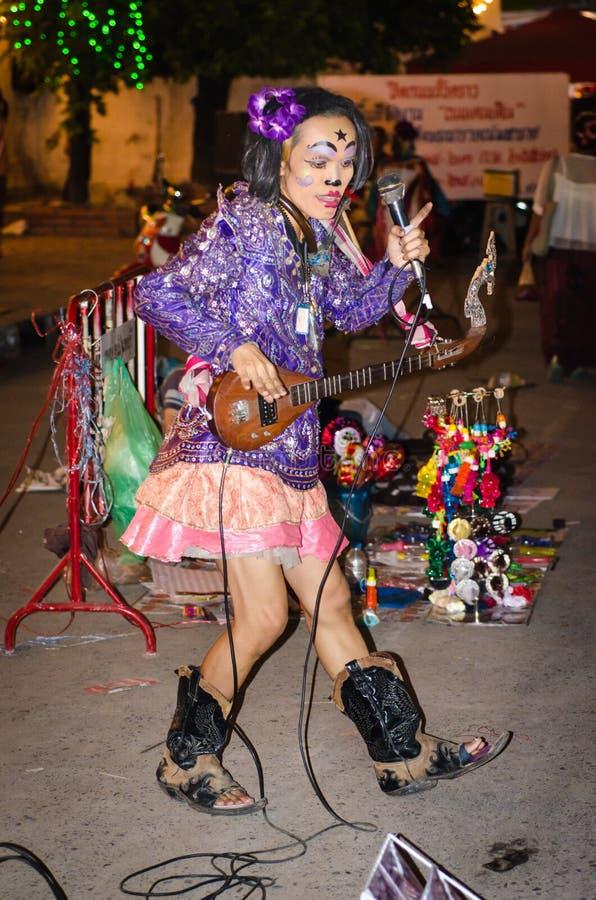 Der Clown Show lizenzfreie stockfotos