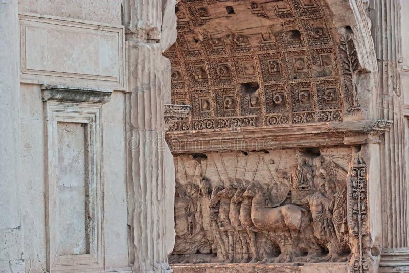 Der Colosseum Detail stockfotos