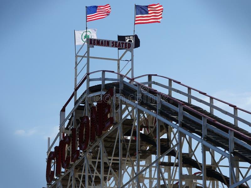 Der Coney Island-Wirbelsturm 82 stockfotos