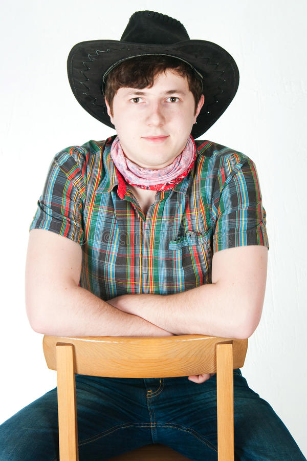 Der Cowboy stockbilder