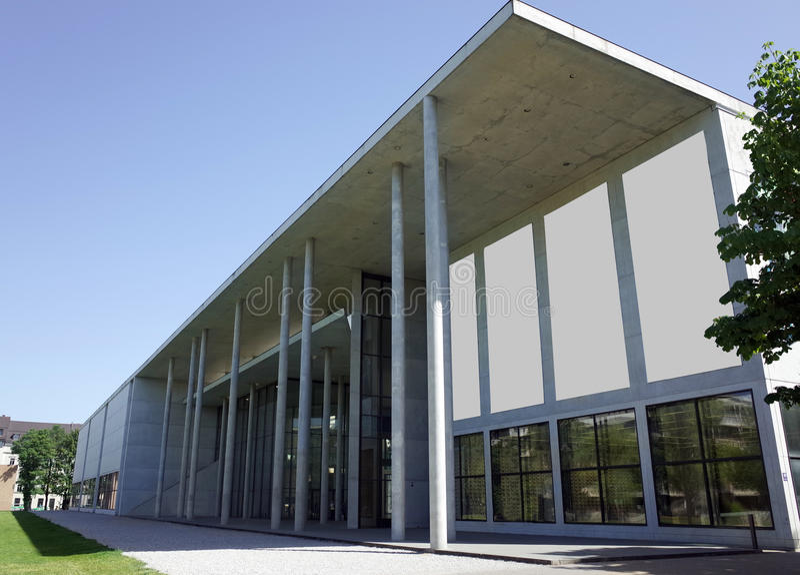 Der de Pinakothek Moderne foto de archivo