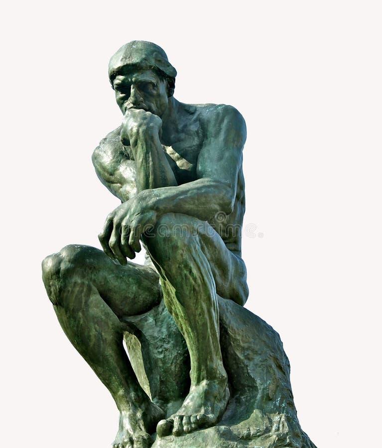 Der Denker stockbild