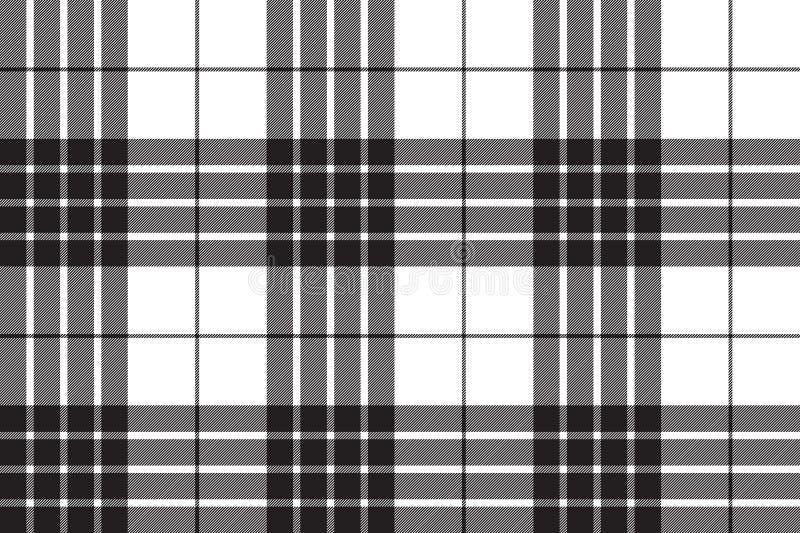Der diagonalen nahtloses Muster Gewebe-Beschaffenheit des Cameron-Clanschottenstoffs lizenzfreie abbildung