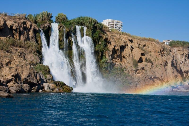 Der Duden Wasserfall lizenzfreie stockfotografie