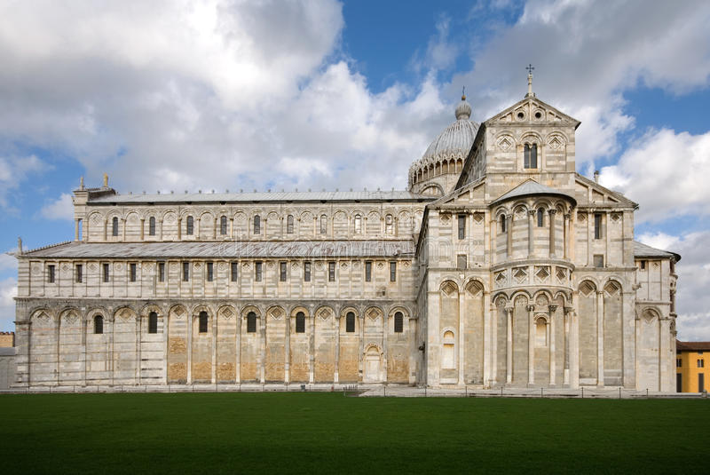 Der Duomo, Pisa, Italien lizenzfreies stockfoto
