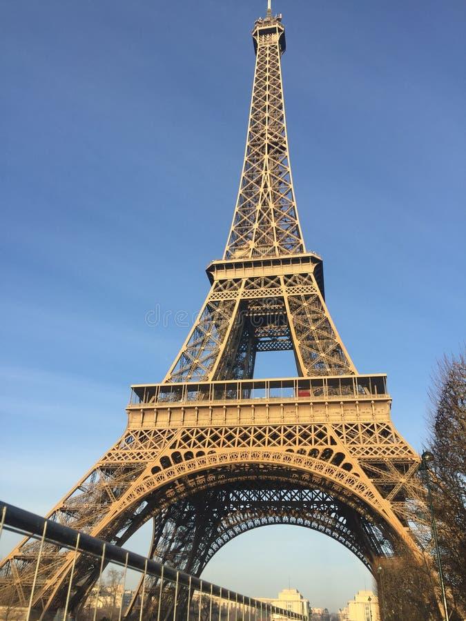 Der Eiffelturm stockbilder
