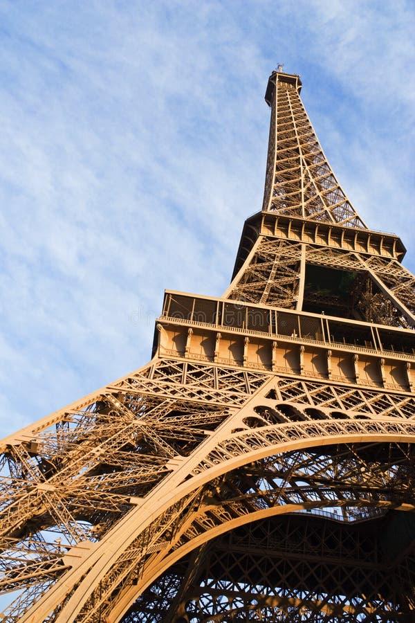 Der Eiffelturm stockfoto