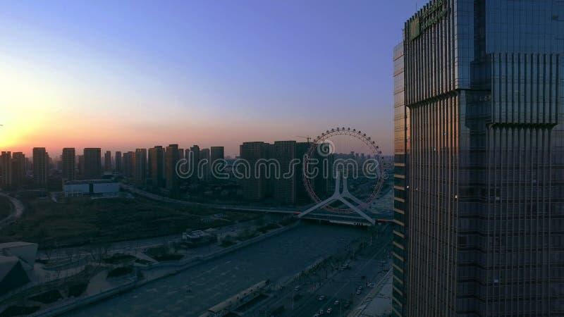 Der Eindruck von Tianjin lizenzfreie stockbilder