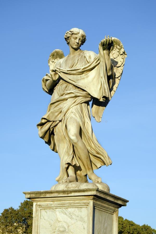 Der Engel mit dem Sudarium stockbilder
