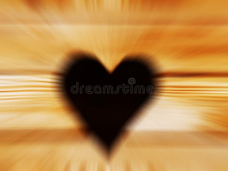 Der Entwurf eines Herzens wird in ein hölzernes Brett geschnitzt Hintergrundhintergrund für Design und Dekorationen Ein Symbol ei lizenzfreie stockbilder