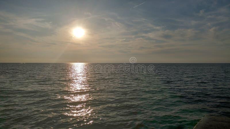 Der Eriesee stockfoto