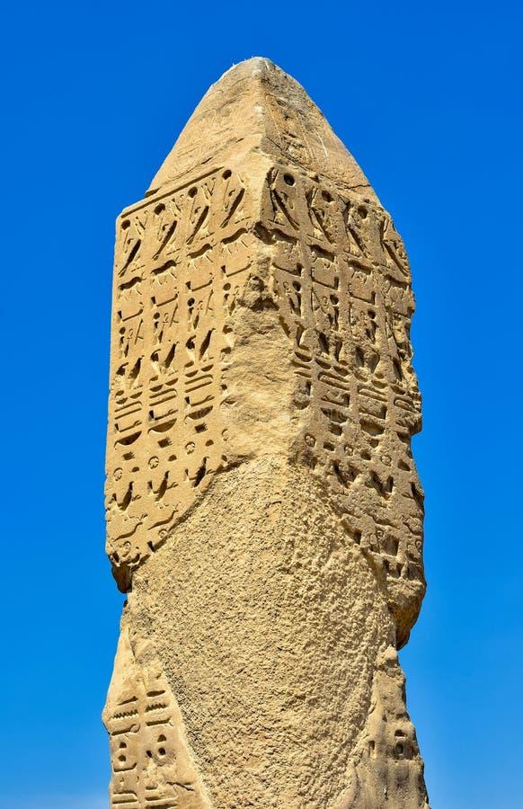 der erste Obelisk und des Luxors lizenzfreie stockbilder