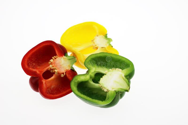 Der Farbpfeffer lizenzfreie stockfotos