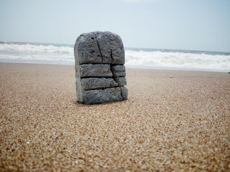 Der Felsen stockbilder