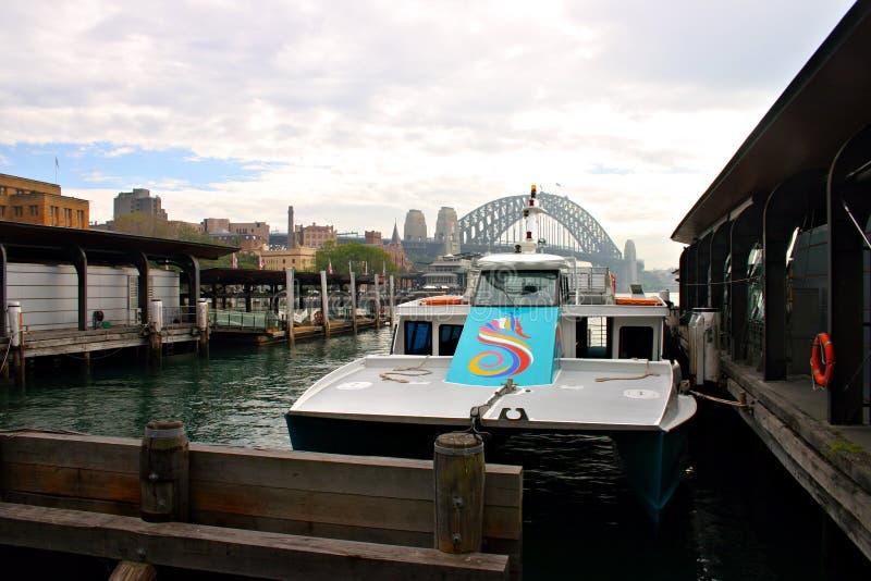 Der Felsen, Sydney lizenzfreie stockbilder