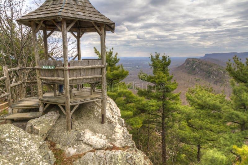 Der Felsen und Eagle Cliffs des Künstlers stockfotografie