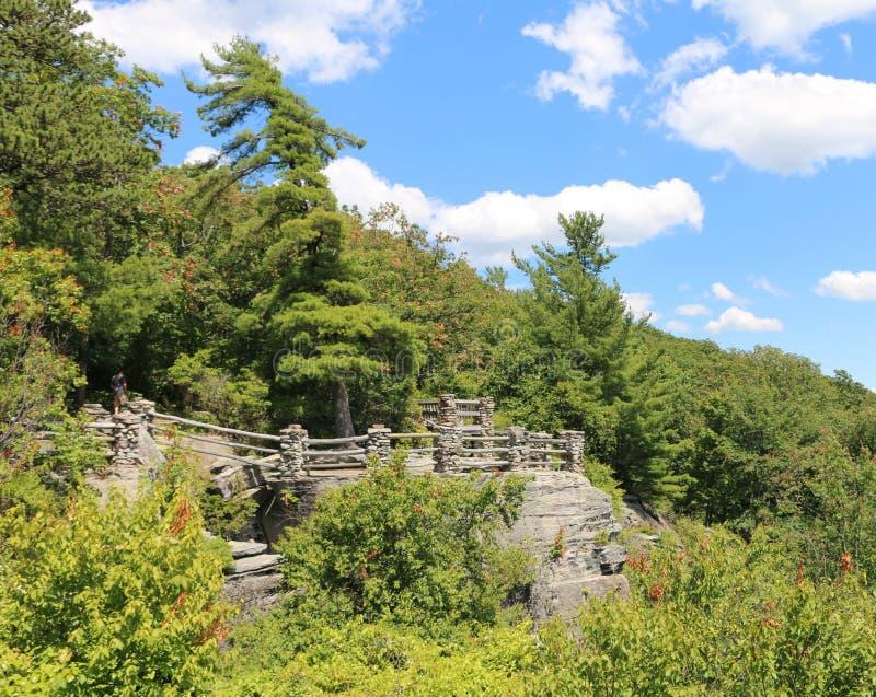 Der Felsen-Zustands-Wald des Fassbinders stockfoto