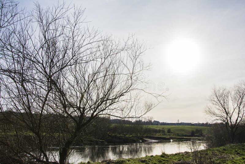 Der Fluss Clyde lizenzfreies stockfoto