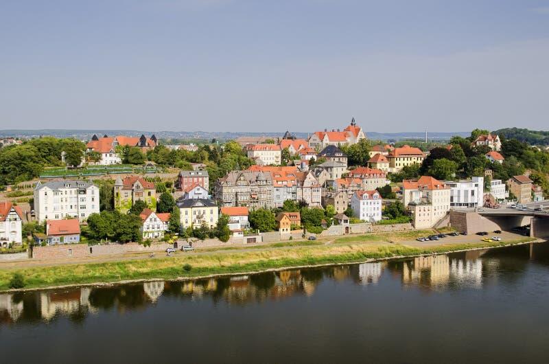 Download Der Fluss Elbe stockfoto. Bild von sommer, mittelalterlich - 27732600