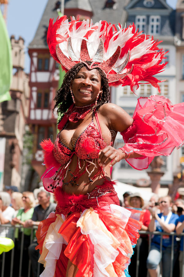 der frankfurt kulturen парад стоковое фото rf