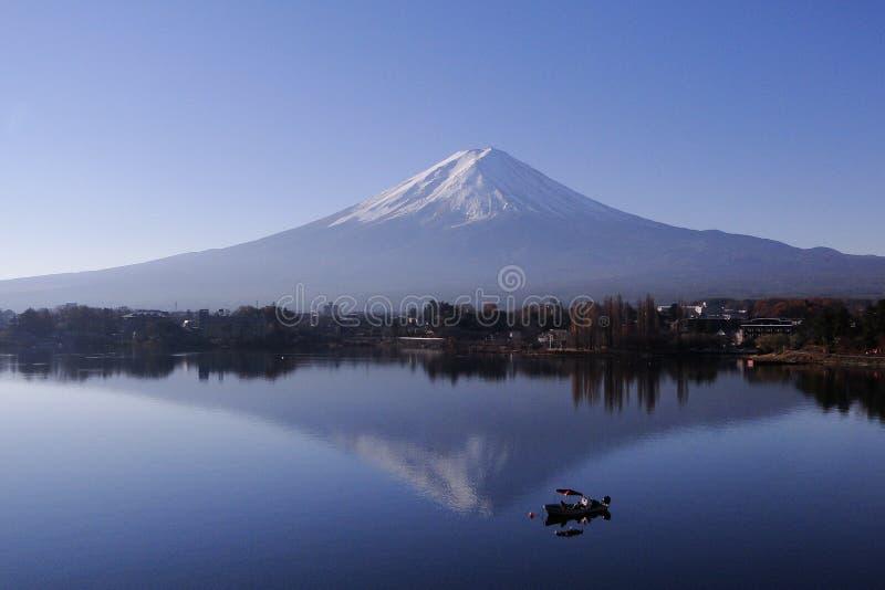 Der Fujisan - ein ikonenhaftes von Japan lizenzfreie stockfotos