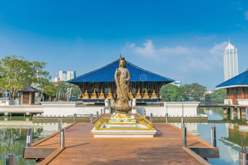Der Gangarama-Tempel stockfotos