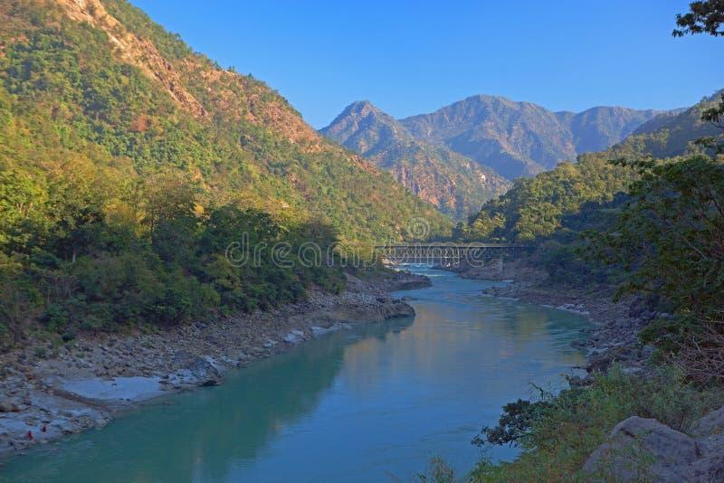 Der Ganges stockfoto