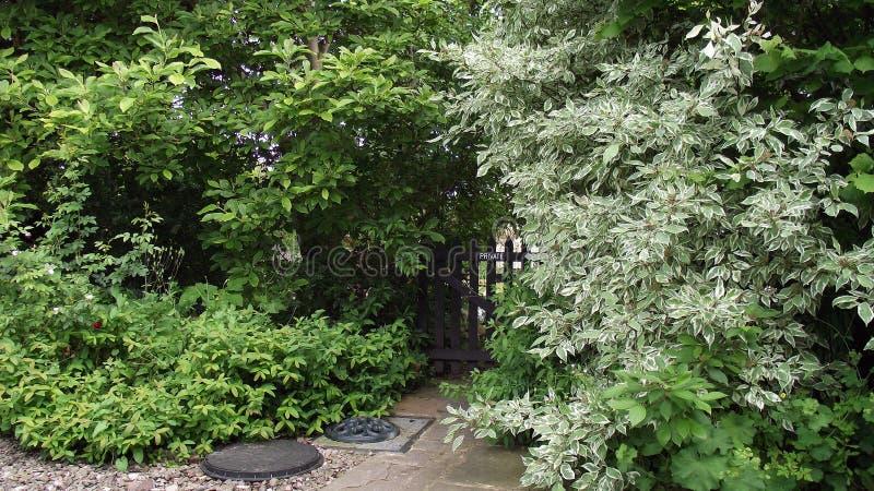 Der Geheimnis-Garten lizenzfreies stockfoto