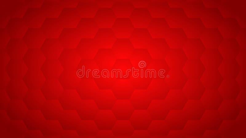 Der geometrische rote Hintergrund der Zusammenfassung lizenzfreies stockbild