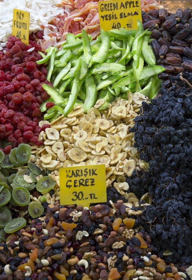 Der Gewürz-Basar, Istanbul, die Türkei lizenzfreies stockfoto
