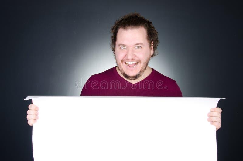 Der glückliche Mann E stockfotos