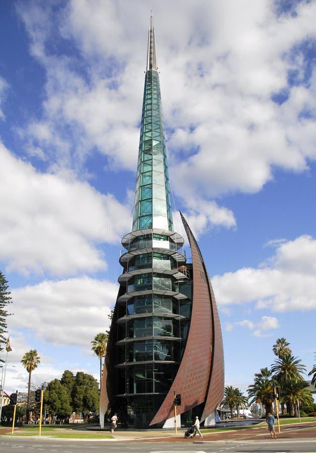 Der Glockenturm Perth, WA. lizenzfreie stockbilder
