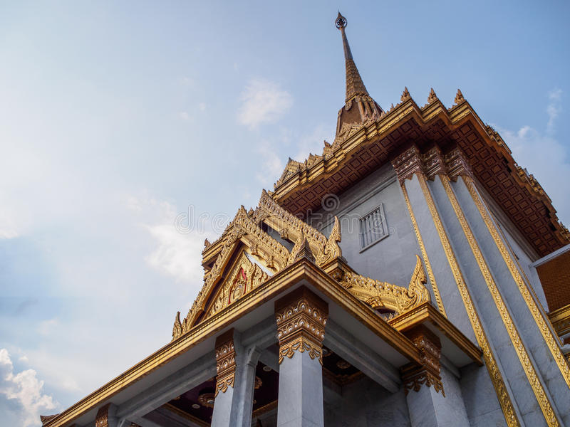 Der goldene Buddha-Tempel lizenzfreies stockfoto