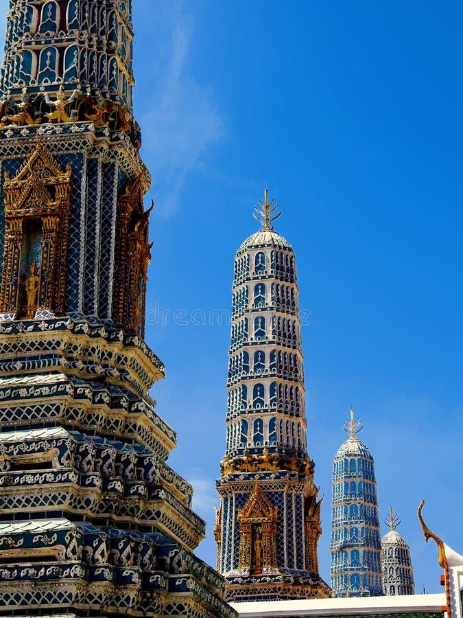 Der großartige Palast, Bangkok, Thailand stockfotografie