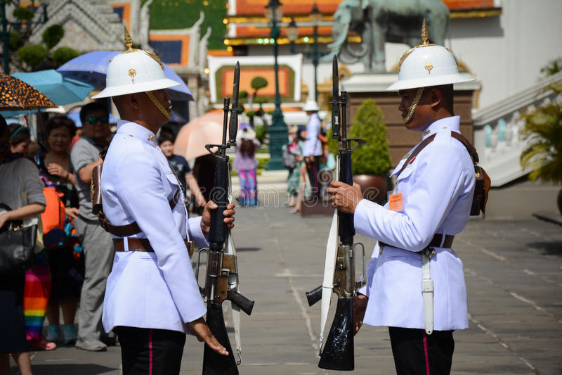 Der großartige Palast Thailand lizenzfreie stockfotografie