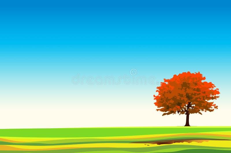 Der große Baum vektor abbildung
