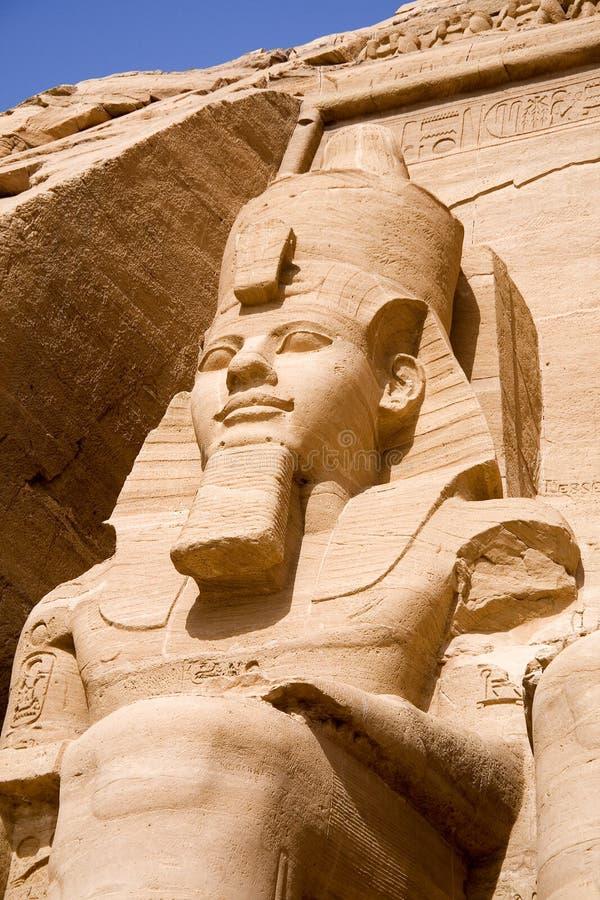 Der große Tempel von Abu Simbel lizenzfreie stockfotografie