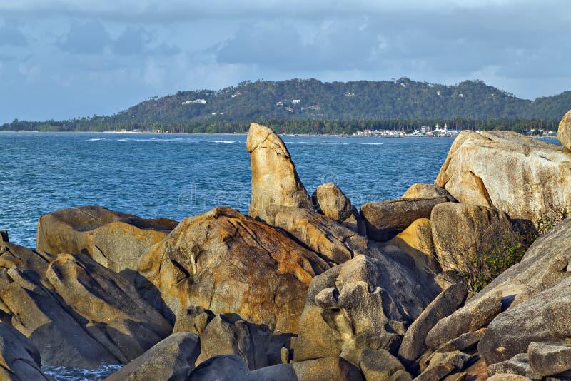 Der großväterliche Felsen, eine Penis formte Säule lizenzfreie stockbilder