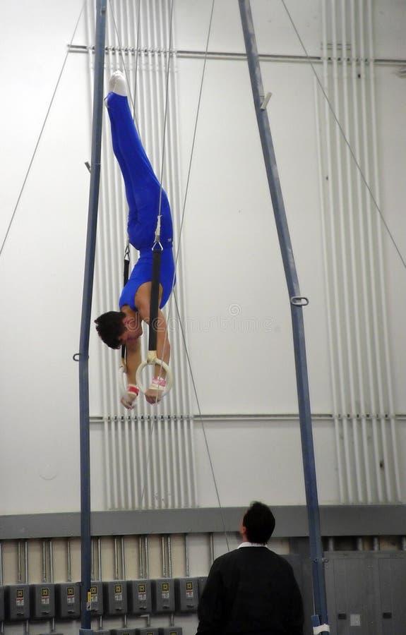 An Der Gymnastik Stockfotografie