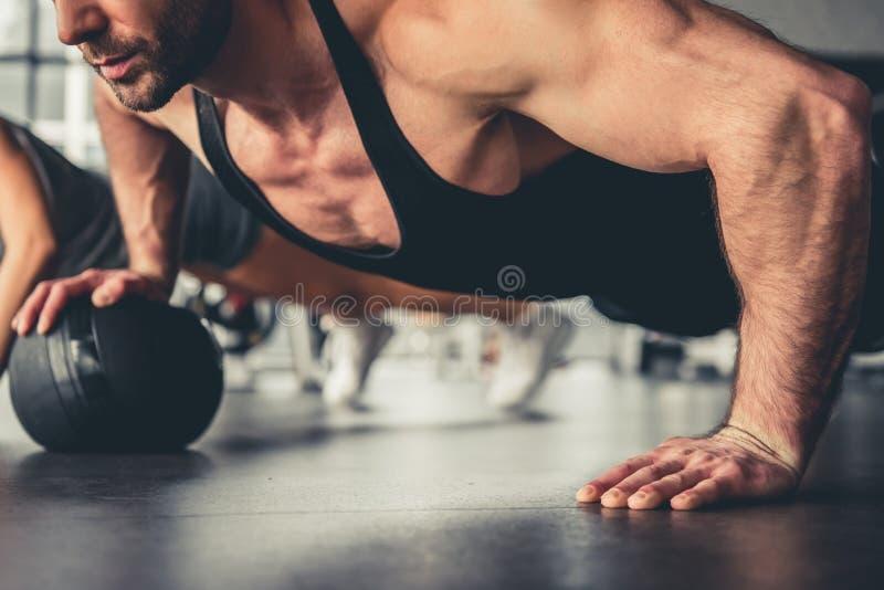 An der Gymnastik lizenzfreie stockfotos
