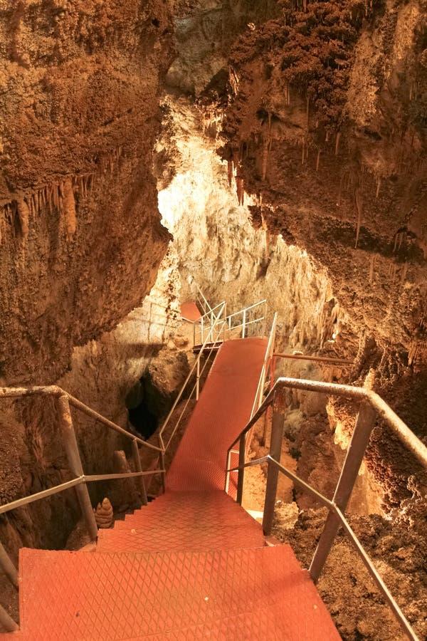 In der Höhle stockfotos