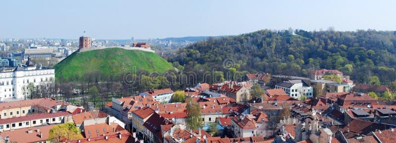 Der Hügel von drei Kreuzen in Vilnius lizenzfreies stockbild