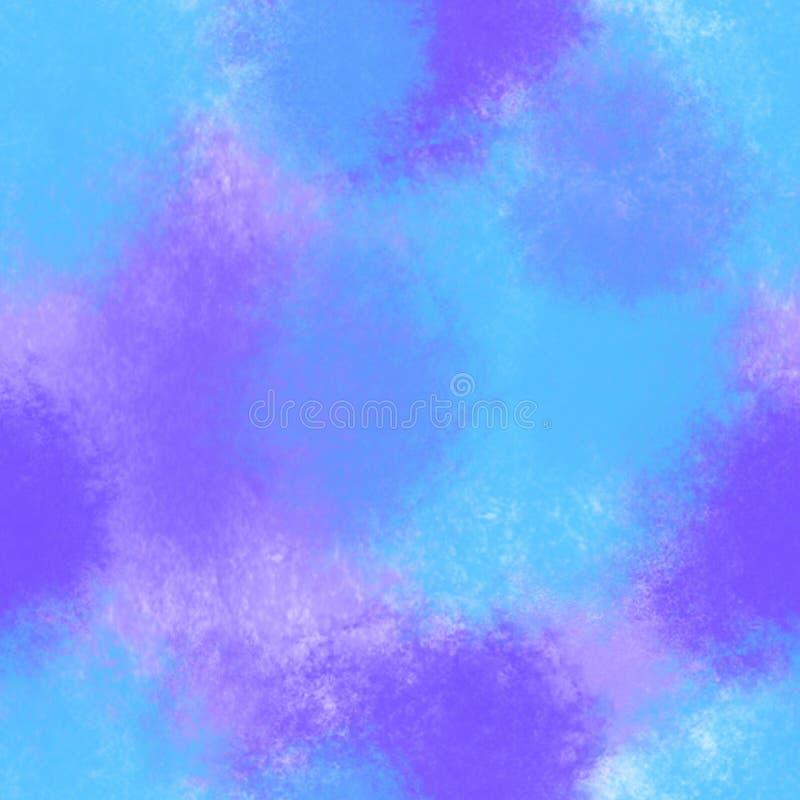 Der hellen nahtloses Muster Fleck-Illustration des Aquarells entziehen Sie Hintergrund stock abbildung