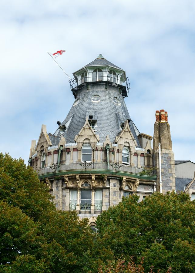 Der Herzog von Cornwall-Hotel, Plymouth, Devon, Vereinigtes Königreich, am 20. August 2018 lizenzfreie stockfotografie