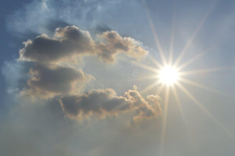 Der Himmel lizenzfreies stockfoto