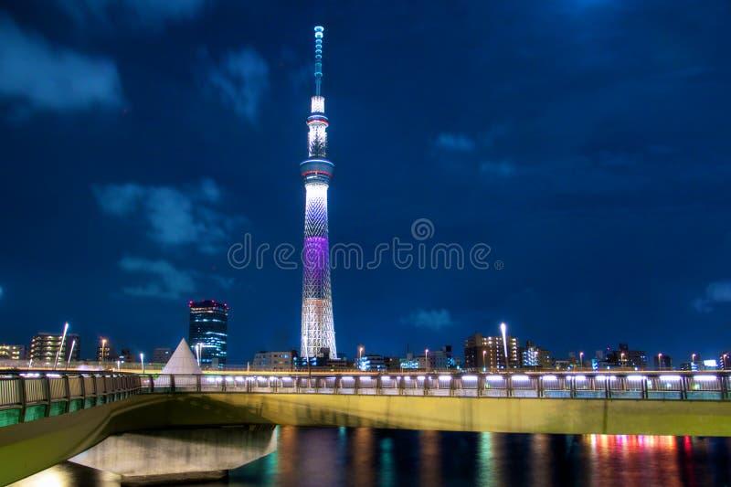 Der Himmel-Baum, Tokyo stockfotografie