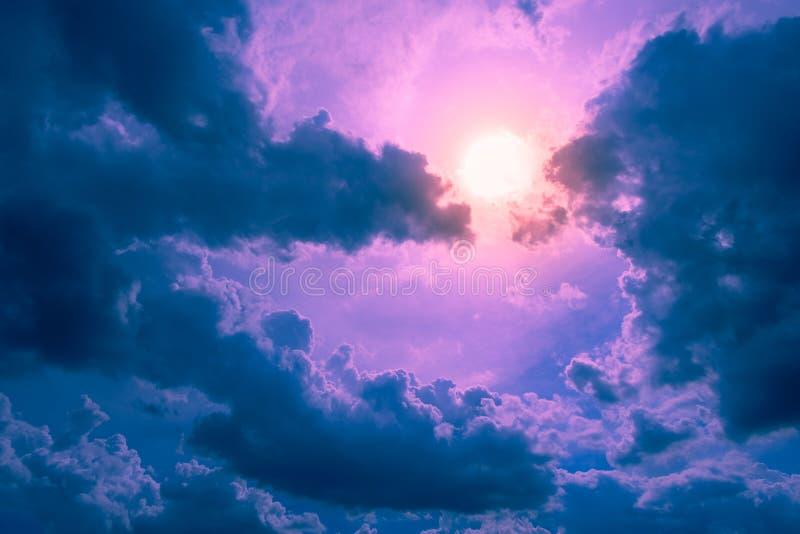Der Himmel der Fantasie lizenzfreie stockfotografie