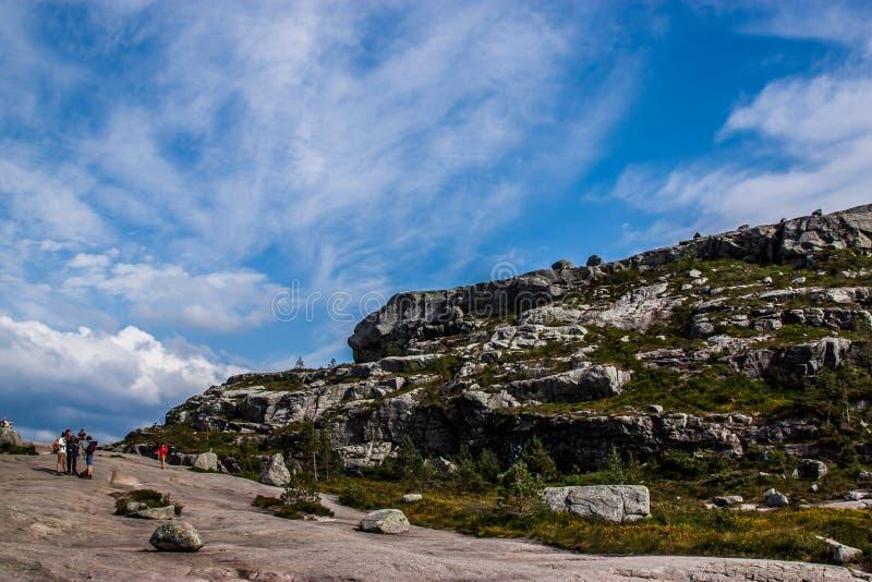 Der Himmel und der Stein stockfotografie